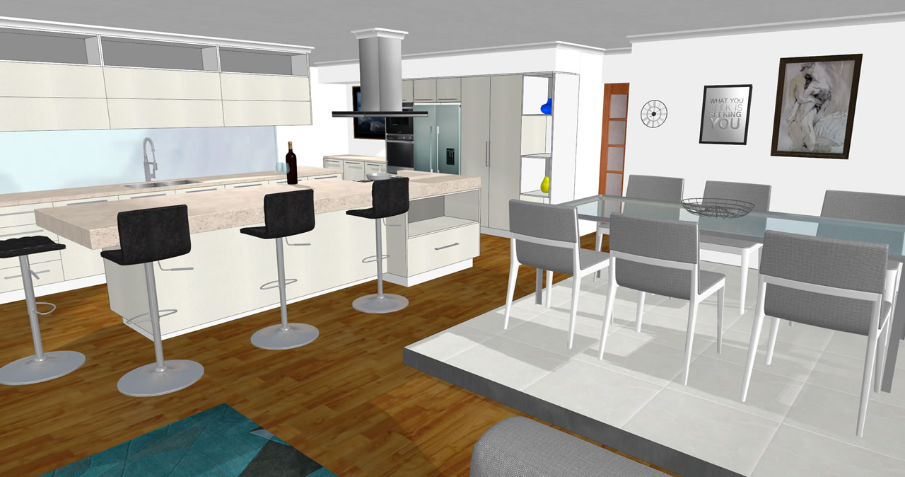 Charming 3d Kitchen V11 Front ...
