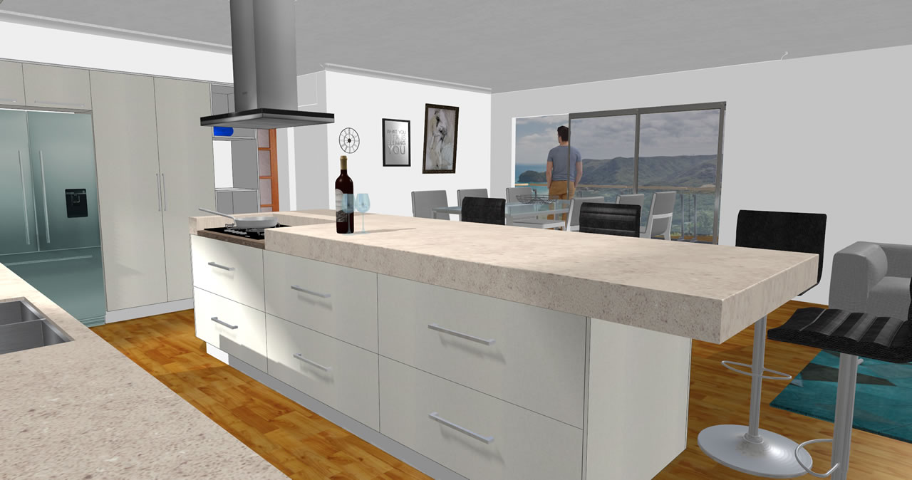3d Kitchen V11 Front; 3d Kitchen V11 Left ...