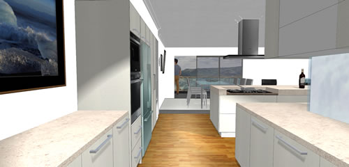 3d Kitchen V11 Back
